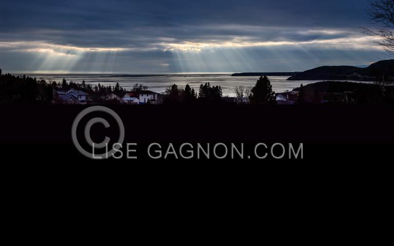 Pied de vent, Saguenay, Tadoussac, Voilier / Photo