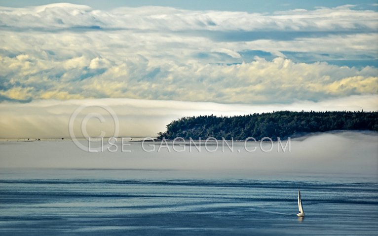 Saguenay Tadoussac, Voilier / Photo