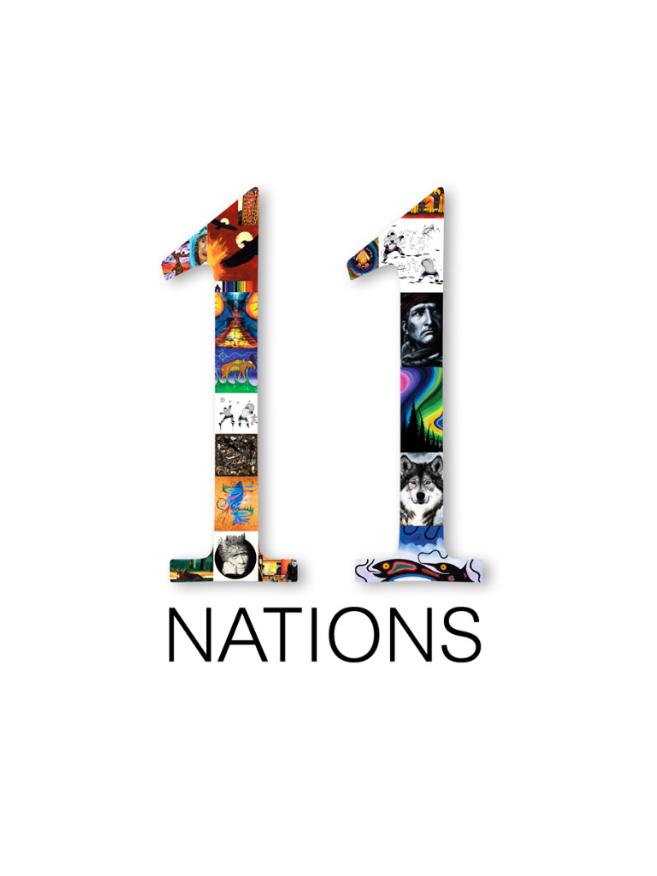 Logo 11 Nations 2011