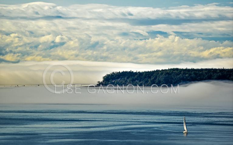 Saguenay Tadoussac, Voilier / Photo