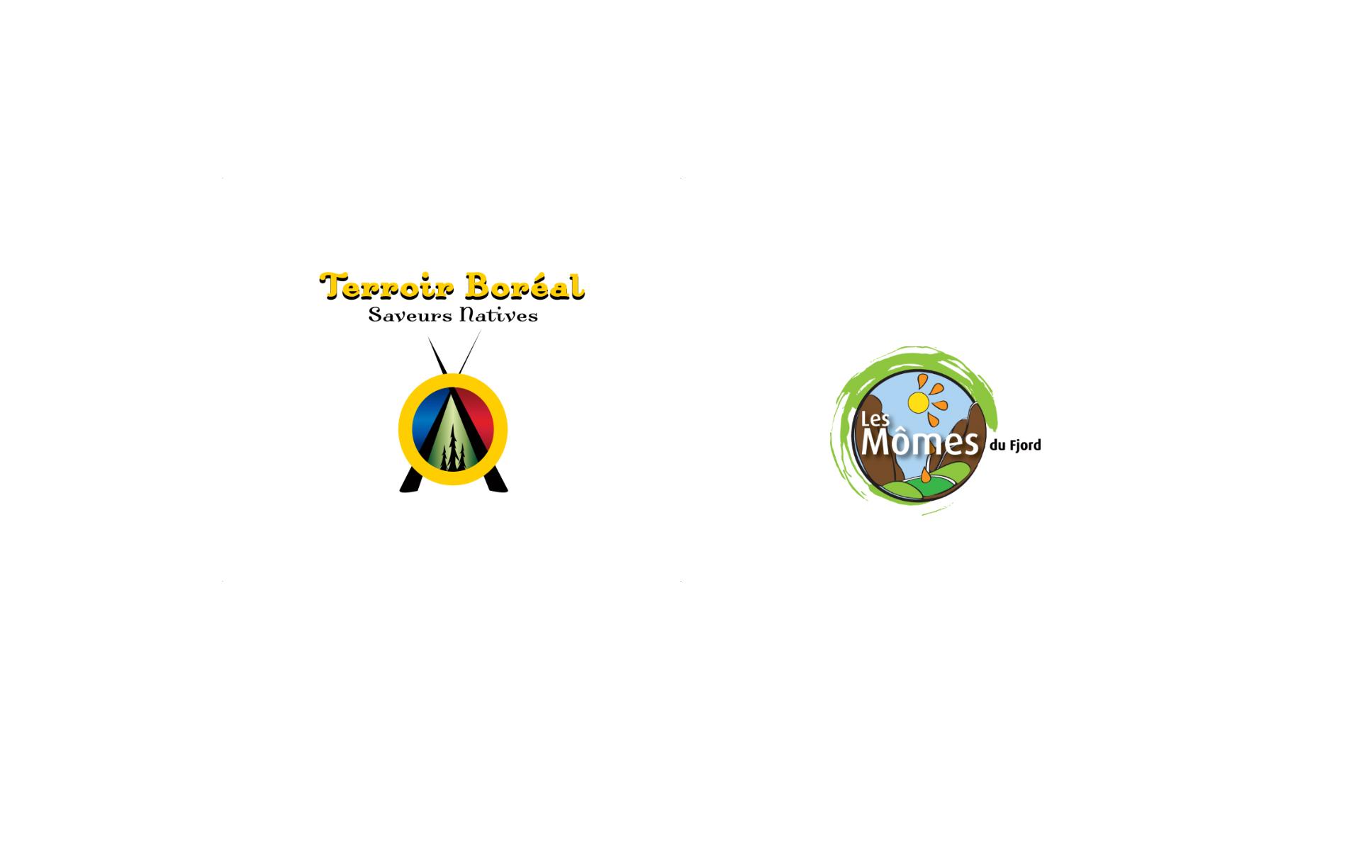 Logos / Terroir Boréal / Les Mômes du Fjord